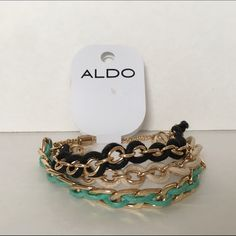 "⚠️PRICE DROP⚠️NWT Aldo Bracelet No Trades or PayPal Same Day Shipping Offers Welcomed Please Use ""Make An Offer"" Button  Bundle Discounts on 2 or more items  ALDO Jewelry Bracelets"