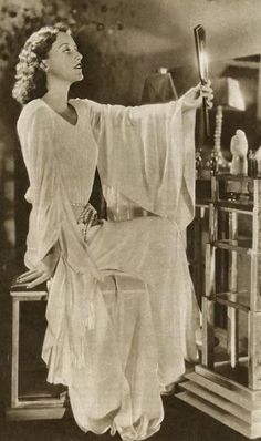 Joan Crawford -  Hand Mirror