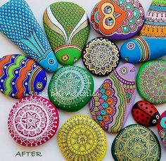 How to make Painted Rocks!