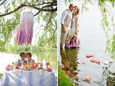 Underwater Garden Wedding Inspiration