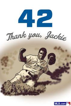 Thank You to Jackie. #Jackie42