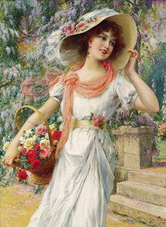 ''Çiçekci Kız''