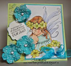 Fitztown Challenge Blog: Inspirational Wednesday and Celebrations Blog Hop, DT Judy using Fae 2 from Fitztown.com, visit Judy's personal blog for details: http://insearchofmycreativeside.blogspot.ca/