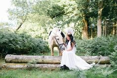 Unique Wedding Inspiration Featuring A Bride in A Feathered Headdress & A Horse   Bridal Musings Wedding BlogBridal Musings Wedding Blog