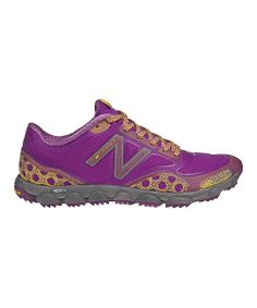 Purple & Yellow Minimus 1010 All-Terrain Running Shoe | Daily deals for moms, babies and kids