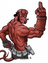 Resultado de imagen para como dibujar a hellboy