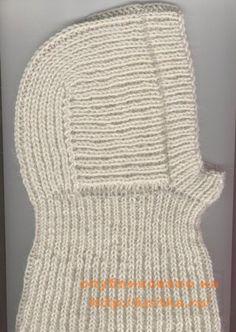 Шапочка-шлем для малыша,  Вязание для детей