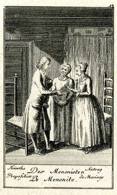 Four rectangular scenes from a series of twelve marriage proposals; illustrations to a Göttingen pocket calendar for 1782.  1781 Etching and stipple