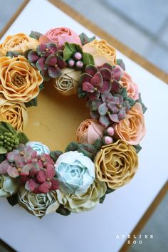 ● wreaths & bouquets : soocake > flowercake : 네이버 블로그