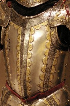 Made by Desderius Helmschmid; decorated by Jörg Sorg the Younger, Southern Germany (Augsburg), ~1552. Helmschmid  armour