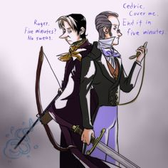 Cedric and Bailiwick au