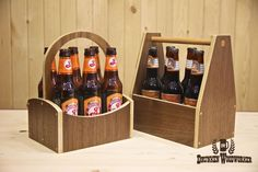 How to Make a Beer Tote/Caddy | The Drunken Woodworker awesome site!!