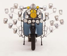 porelpiano: VESPA GS 150,...Turn on the light!!