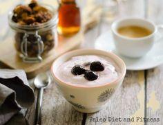 Easy Dairy-Free Cherry Yogurt