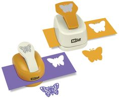 McGill - Paper Punch - Silhouettes and Shadow - Butterfly Set at Scrapbook.com $32.99