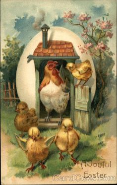 A Joyful Easter With Chicks More