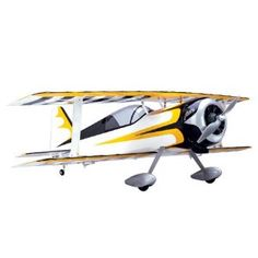 E-Flite Pitts Model 12 15e ARF RC Airplane