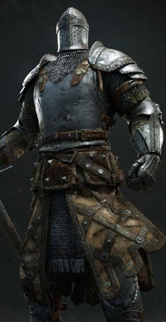 "For Honor cinematic: Knight - by Andrzej Marszalek ""Character done for ""For Honor"" cinematic. My task was: texturing, shaders and sculpting tweaks. Sword, skinning/posing, hair and cloth simulations..."