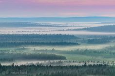 Photo by Thomas Kast After.sunset haze in Enontekiö, Finnish Lapland. Winter Springs, Aurora Borealis, More Photos, Arctic, Finland, Wilderness, Norway, Waves, Wall Art