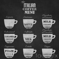Italy coffee vector