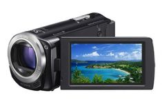 Black Friday 2014 Sony HDR-CX260V High Definition Handycam 8.9 MP Camcorder with 30x Optical Zoom and 16 GB Embedded Memory (Black) (2012 Model) from Sony Cyber Monday