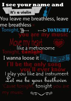 Beethoven - Union J lyrics