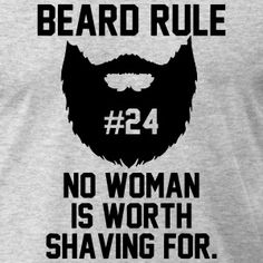 Beard Rule T-Shirts - Men's T-Shirt by American Apparel