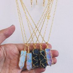Crystal Necklaces – Stargaze Jewelry- Tap the link now to see our super collection of accessories made just for you! Cute Jewelry, Diy Jewelry, Jewelry Accessories, Jewelry Necklaces, Jewelry Design, Fashion Jewelry, Jewelry Making, Diy Necklace, Ocean Jewelry