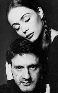 French film stars Daniel Auteuil and Emmanuelle Béart
