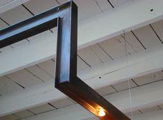 solives et plafond blanc