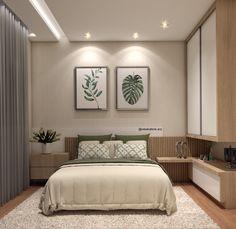 home decor diy Luxury Bedroom Design, Bedroom Bed Design, Bedroom Furniture Design, Home Decor Furniture, Home Decor Bedroom, Bedroom Wall Colors, Bedroom Layouts, Small Room Bedroom, Modern Bedroom