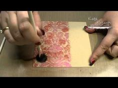 ▶ 3 Cards using Versamark and LSG Magical Micas - YouTube