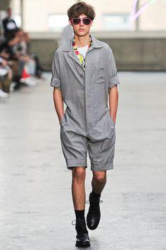 Topman Design. A men's short jumpsuit perfected. #Jumpsuit #Menswear #Guy
