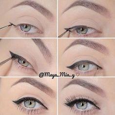 eyeliner ~ top lid