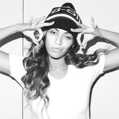 Beyonce Thugged Out . I actually love this style. basically boyish, relaxed.