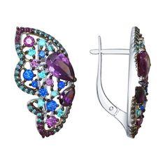 Cercei din aur | Cercei din argint | Cercei cu diamant | Cercei copii - JOVIV Jewellery Sketches, Cubic Zirconia Earrings, Butterfly Wings, Drop Earrings, Silver, Jewelry, Diamond, Ear Jewelry, Clocks