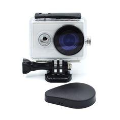 Xiao mi YI action camera waterproof Housing case Protective Lens Cap Cover for original Xiaoyi camera accessories A224