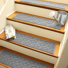 Not Only Do Aqua Shield Stair Treads Offer Extra Traction For Outdoor  Stairways, Their Unique Rigid Design Helps Contain Dirt And Moisture.