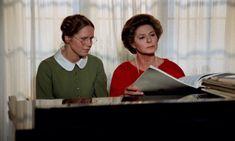 "Ingmar Bergman's ""Autumn Sonata"" reunites a daughter (Liv Ullmann) and mother (Ingrid Bergman) who haven't seen each other in seven years: http://www.dvdizzy.com/autumnsonata.html"