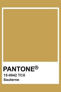 Pantone Sauterne #pantone #sauterne Paleta Pantone, Pantone Tcx, Pantone Swatches, Color Swatches, Colour Pallete, Colour Schemes, Color Trends, Pantone Colour Palettes, Pantone Color