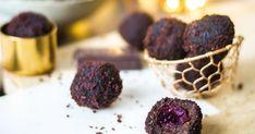 S vášní pro jídlo: Schwarzwaldské koule Cookies, Meat, Chocolate, Desserts, Food, Crack Crackers, Tailgate Desserts, Deserts, Biscuits