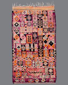 vintage Moroccan rug, Boujad #BJ05