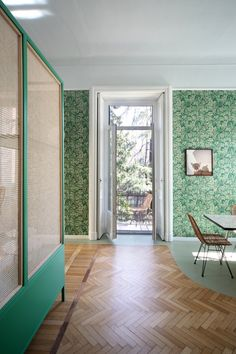 Relationship with nature and memories of space were the driving concepts behind this whimsical Milan apartment renovation by Marcante-Testa. Home Design, Design Studio, Interior Design, Milan Apartment, Best Neutral Paint Colors, Modern Hallway, Apartment Renovation, Bedroom Sets, House Tours