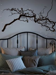 VISSVASS LED string light with 40 lights - indoor, battery o.- VISSVASS LED string light with 40 lights – indoor, battery operated silver color – IKEA - Decoration Branches, Light Decorations, Led Fairy Lights, Led String Lights, Mason Jar Fairy Lights, Mason Jars, Light Chain, Luz Led, Diy Interior