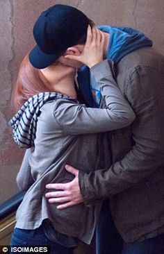 scarlett johannson on set of captain america the winter soldier photos   Looks like Black Widow and Captain America are getting down to some ...