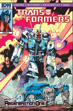 Transformers: Regeneration One - Issue #83 - Cover B