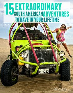 From sandboarding in the desert to hiking in glacier-peaked mountain ranges to lounging on pristine Caribbean beaches, there's an adventure for everyone in South America.