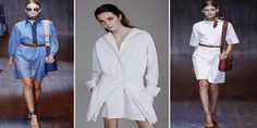 Moda feminina primavera-verão 2016-vestido-camisa-chemise