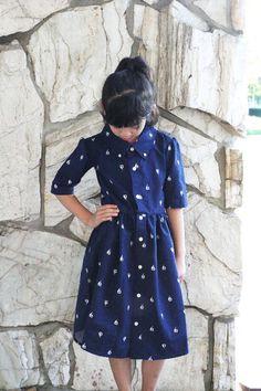 DIY: Men's XL shirt into a little girl's dress | Our Life is beautiful | Bloglovin'