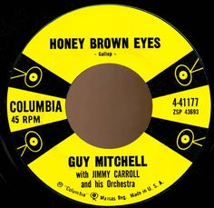 Guy Mitchell - Honey Brown Eyes